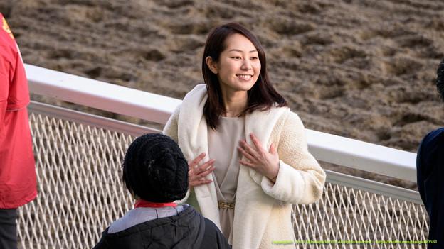 谷桃子さん「いやさすがに今日は着物じゃないです」【150128川崎11R川崎記念】