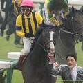 Photos: イスラボニータ「やっぱりこの馬場はダメだよ!」【150301中山11R中山記念】 #ジロリ馬