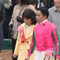 Photos: 岩田J「いやぁ~怒られるんすかね~」馬主さん「怒られるかもね~」【150301中山11R中山記念】