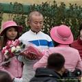 Photos: 中舘J「お、ありがとうございます」【150125中山中舘英二騎手引退式】