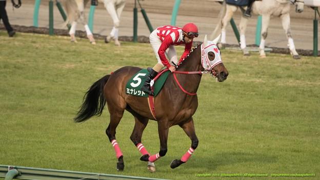 ミナレット(石川)「うーん…走ってみるとやっぱり重く感じるわ~」【150315中山11R中山牝馬S】