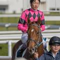 Photos: スマートグレイス「いやーちょっと緊張するわ」【141116京都6R新馬】