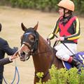 Photos: ベルラップ「皇成くんに悔しい思いさせちゃったなぁ、今回はごめんね」【150419中山11R皐月賞】 #ジロリ馬