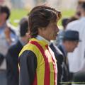 Photos: ヨシトミJ「あー、ノリちゃんにお土産頼んでおかなきゃなぁ~」*フィクション【150503東京11RスイートピーS】