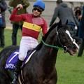 写真: ゴールドアクター「いやーしかし勝っちゃったね~すごいね~」【151227中山10R有馬記念】 #keiba #有馬記念