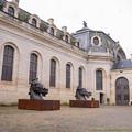 Photos: 中庭の馬像さん「いつレース出てもいいぞ」[151106Les Grandes Ecuries]