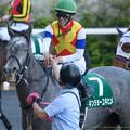 キンショーユキヒメ「秋山さんおめでとう、私も歴史に残りますねこれ」<180421福島11R福島牝馬S>
