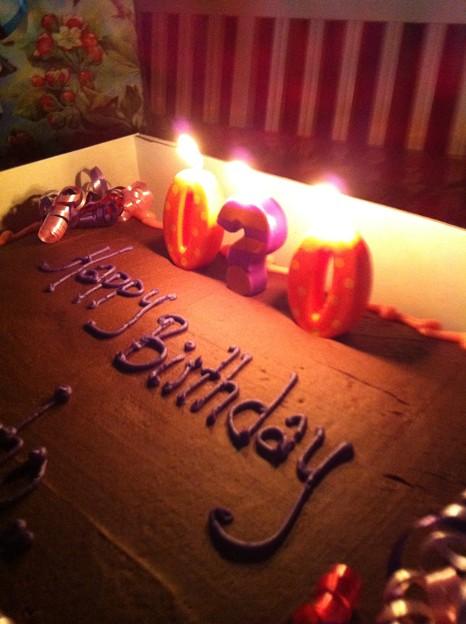 I am the birthday girl (((o(*゚▽゚*)o)))