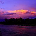Purple hour...