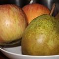 Photos: ラ・フランスとリンゴ