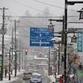 Photos: 雪降る町
