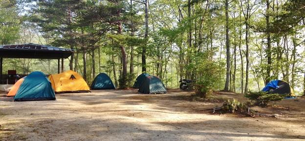 Photos: キャンプ場の風景