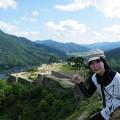 Photos: 天空の城にて ピース!