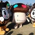 Photos: 【一部】おぶせまろんちゃんとドコモダケとおぶせくりちゃん
