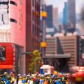 レゴブロックの街角