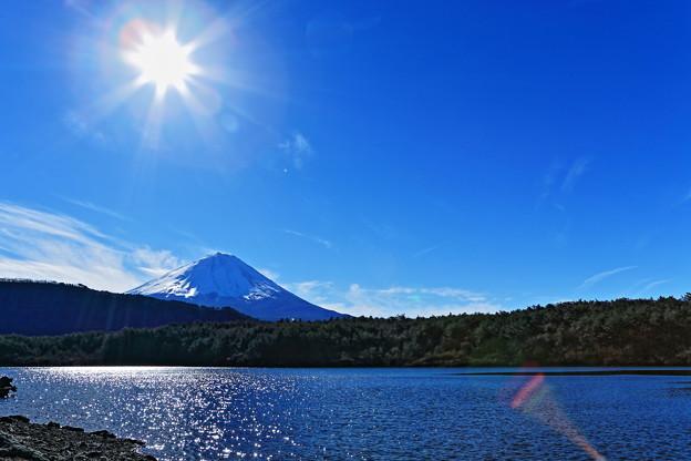 写真: 『蒼さ澄み渡る西湖』 2013元旦
