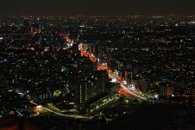 『年明けの煌き』 ~東山スカイタワー