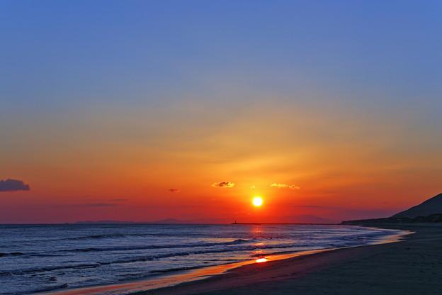 『刹那』 ~太平洋ロングビーチ~