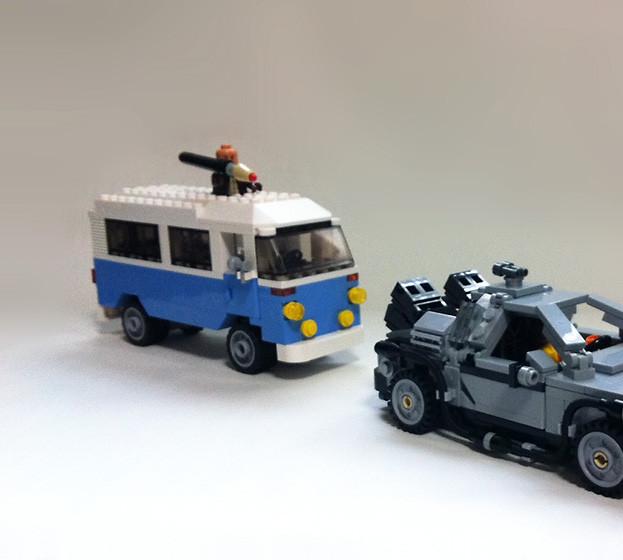 BTTF - テロリストのワゴン車