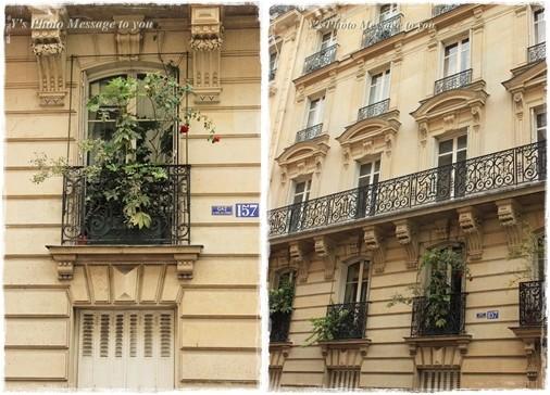 フランス窓辺