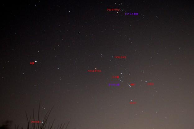 木星とオリオンザ座