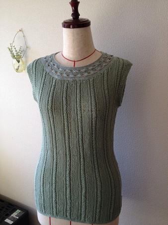 リング編み襟プル