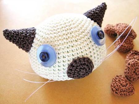 猫ヘルメット「Siamese」