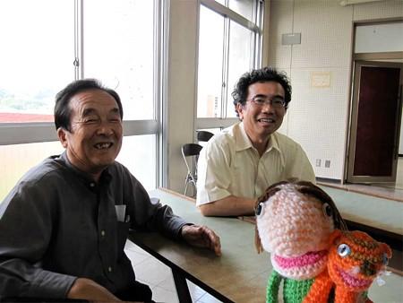 江頭宏昌先生と山根成人さん