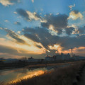 Photos: 鏡川の朝.19