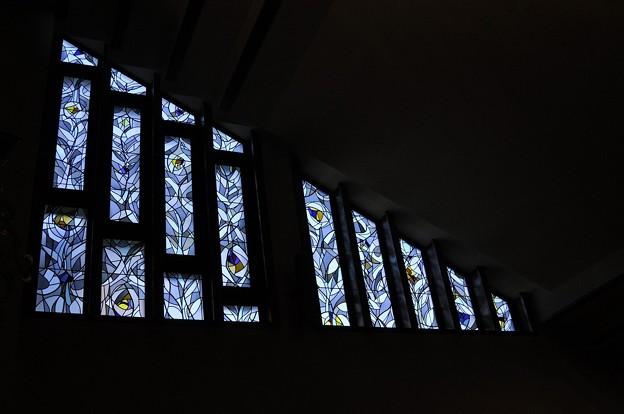 聖グレゴリオの家聖堂のステンドグラス