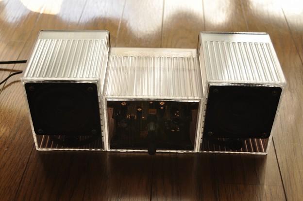 月刊Stereo付録アンプによるミニコンポの制作(8)