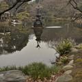 鶴の噴水(2)