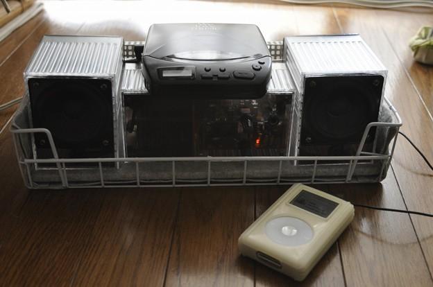 月刊Stereo付録アンプによるミニコンポの制作(11)