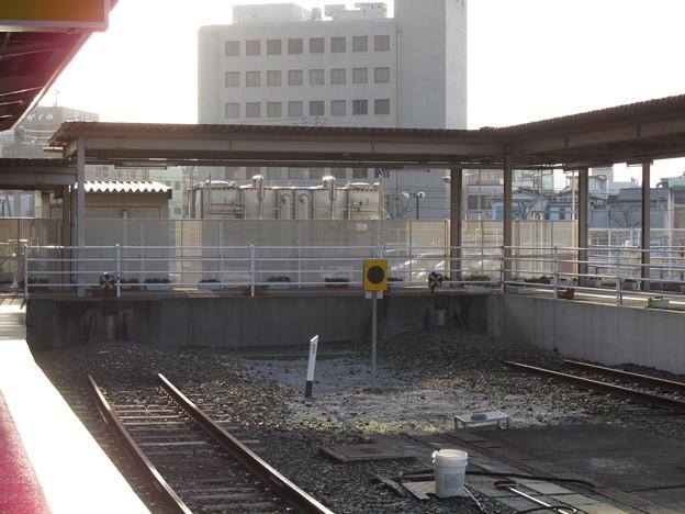 宇和島駅の車止め