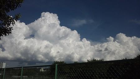 夏の雲9月8日