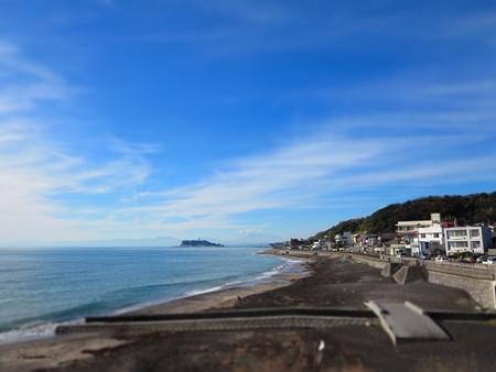 江ノ島&富士山のジオラマ