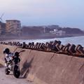 Photos: バイクと風車