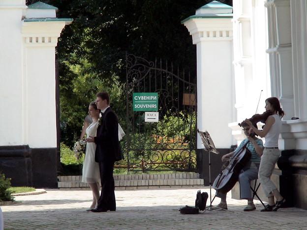 新婚さんがブライダル撮影