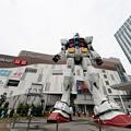 Photos: ガンダム、ダイバシティー東京に立つ!