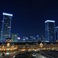Tokyo station night