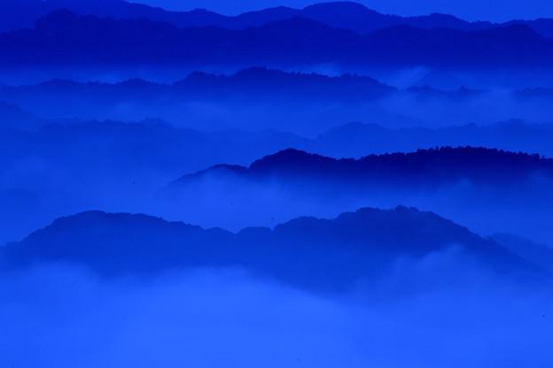 九十九谷の雲海