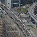 新幹線とリゾート踊り子を俯瞰
