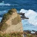 勝浦八幡岬の海
