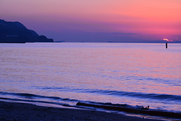 Photos: 染まる海