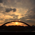DSC_8328 羽田の夕陽