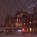 DSC_5731 吹雪の中の東京駅