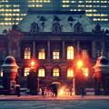 DSC_8320 雪中に光る法務省赤煉瓦庁舎(旧司法省庁舎)