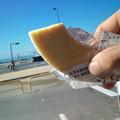 Photos: 今朝の補給食はバームクーヘン