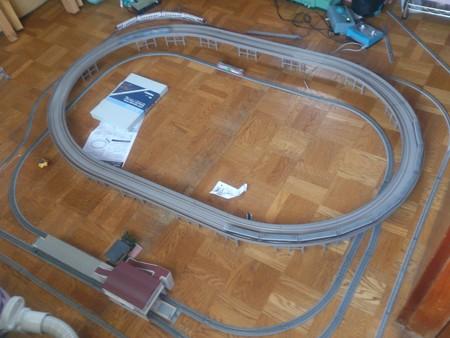 鉄道模型レイアウト!