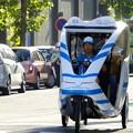 Photos: モダンな人力車